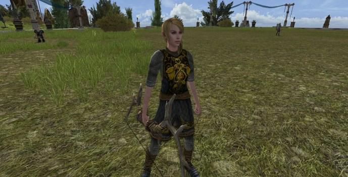 Garde de propriété Elfe (femme)