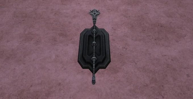 Bâton Monté au Mur