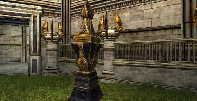 Urne d'ornementation de la Moria