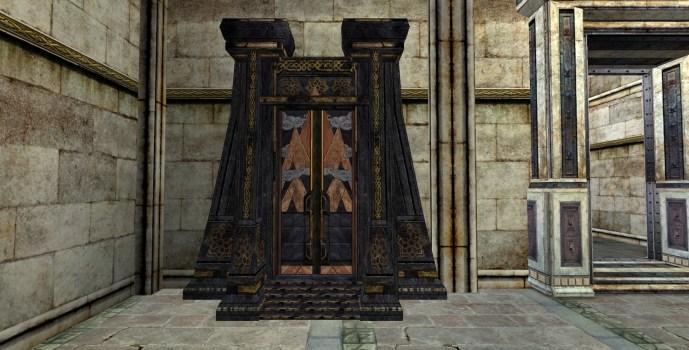 Réplique de la Porte de Mazarbul