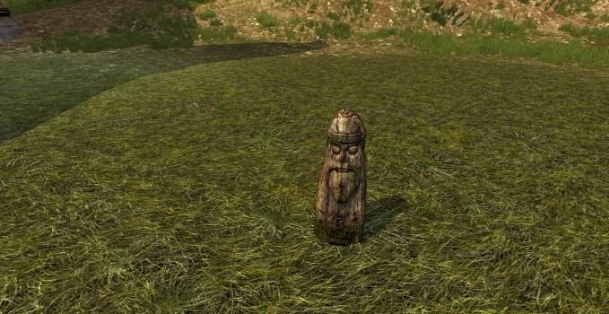 Petit Totem des Hommes des Bois
