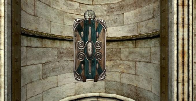 Bouclier Mural de Gardien du Val