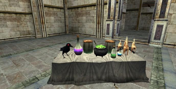 Table à Potions