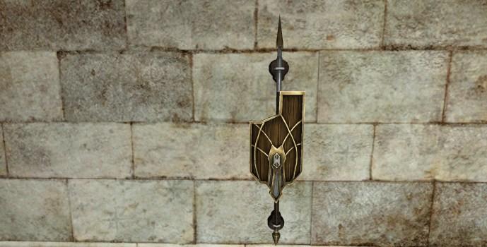 Bouclier Mural de Sentinelle du Val