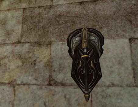 Hache de Minas Ithil Montée au Mur
