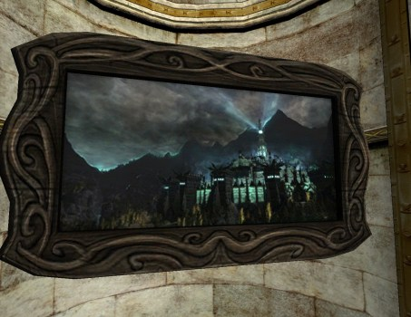 Minas Morgul la Nuit