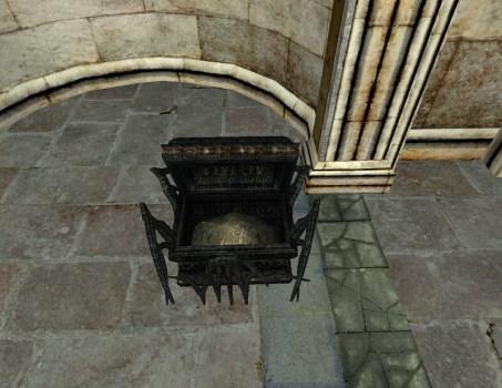 Cercueil en os de Minas Morgul – Ouvert