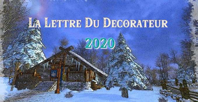 La Lettre du Décorateur – 2020