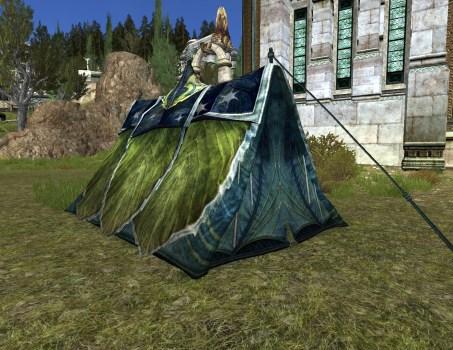 Tente de guerre du Lindon