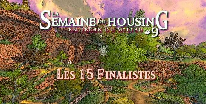 Semaine du Housing #9 – Les 15 finalistes !