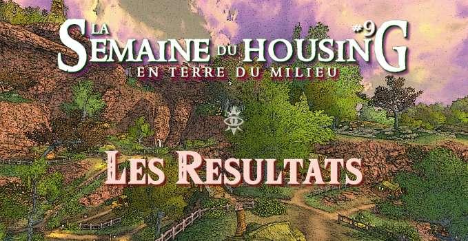 Semaine du Housing #9 – Les Résultats