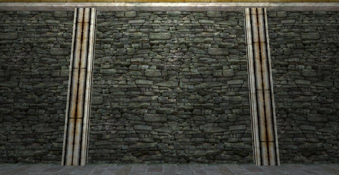 Mur en Pierres des Champs