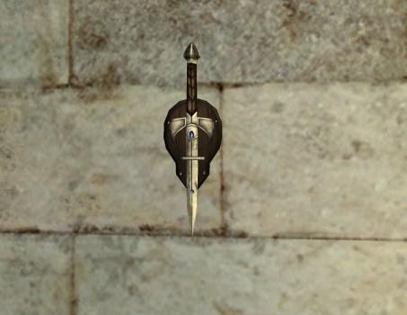 Dague Murale de Remmorchant
