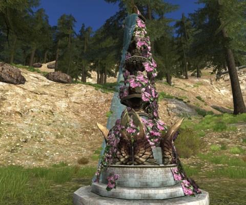 Sculpture de Jardin du Solstice d'été (Midsummer Garden Sculpture)