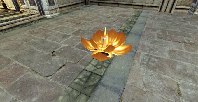 Lanterne Flottante – Ouverte