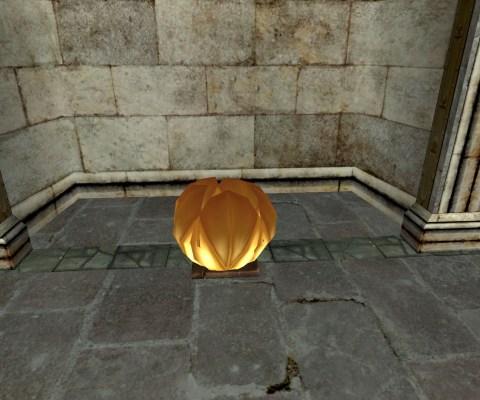 Lanterne Flottante – Fermée (Floating Lantern – Closed)