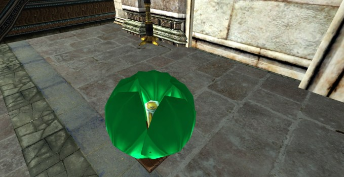Lanterne Flottante Verte – Fermée