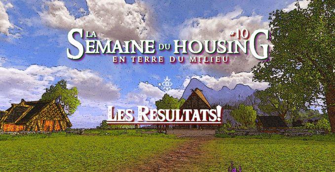 Semaine du Housing #10 – Les Résultats