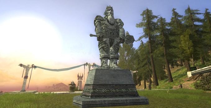 Statue de Nain – Marteau