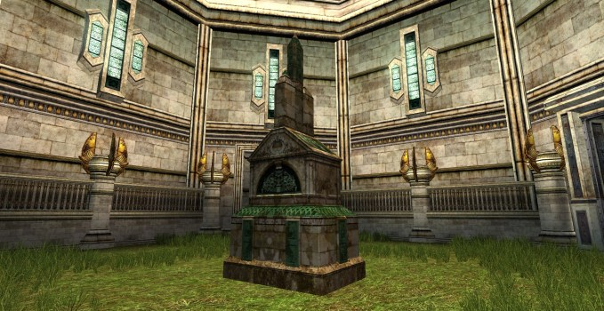 Grande Réplique d'une tombe Arnorienne