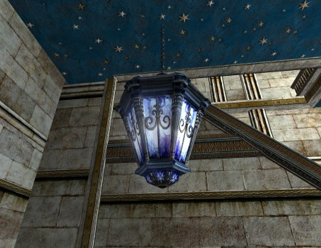 Lanterne suspendue d'Azur