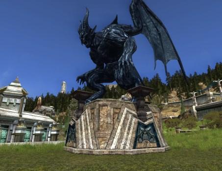 Statue d'Obsidienne 'Fléau de Durin'