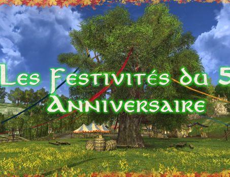 Les Festivités du 5e Anniversaire