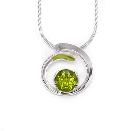 Silver Peridot