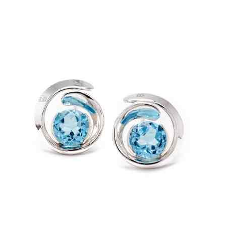 Silver Blue Topaz