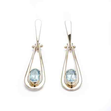 Yellow Gold Aquamarine