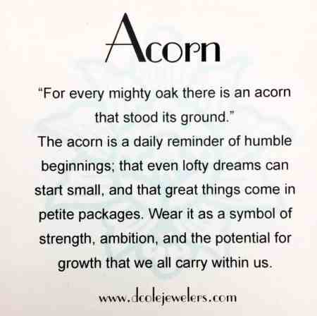 Acorn Pendant 2