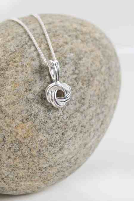 Love Knot Necklace (Medium) 6
