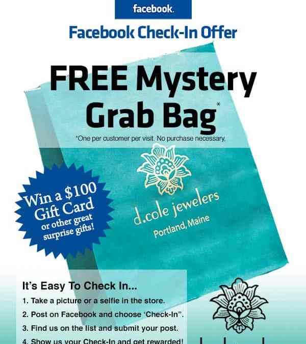 Check-In On Facebook For Your Chance To Win a $100 Gift Card