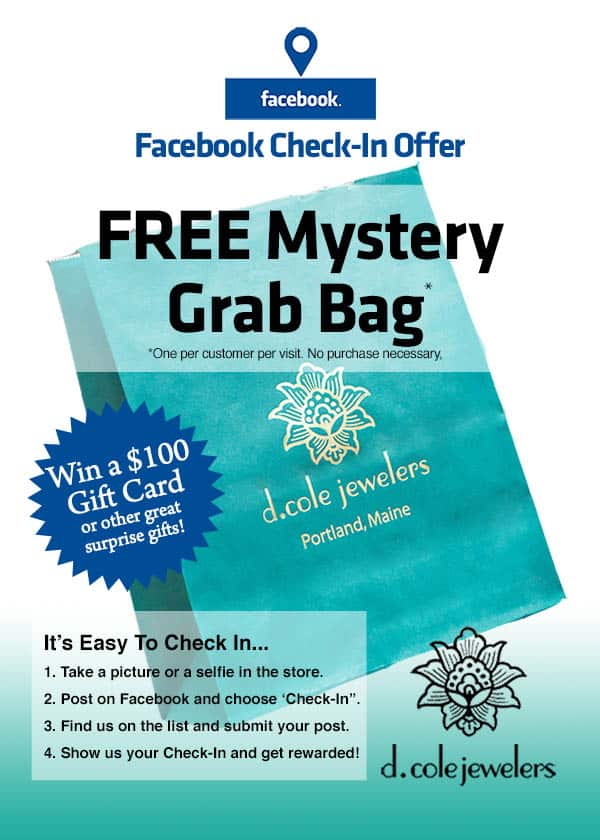Check-In On Facebook For Your Chance To Win a $100 Gift Card 1
