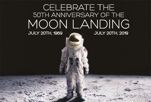 Celebrate The 50th Anniversary of the Moon Landing