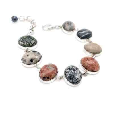 Maine Beach Stone Bracelet 3