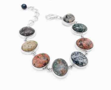 Maine Beach Stone Bracelet 1