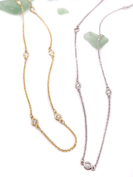 Diamonds by the Yard Necklace 1