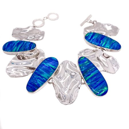Iridescent Opal Bracelet 1