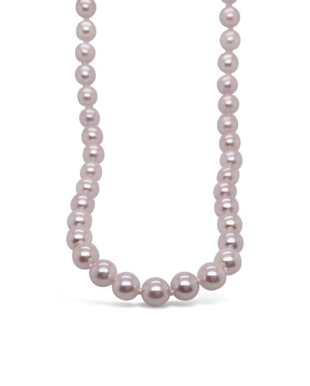 Light Pink Akoya Pearl Necklace 1