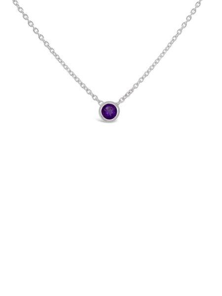 Bezel Stone Necklace 2
