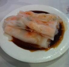 rouleaux de nouilles de riz aux crevettes