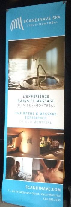 Affiche Scandinave SPA Vieux-Montréal