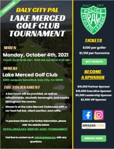 Lake Merced Golf Club Tournament Flyer