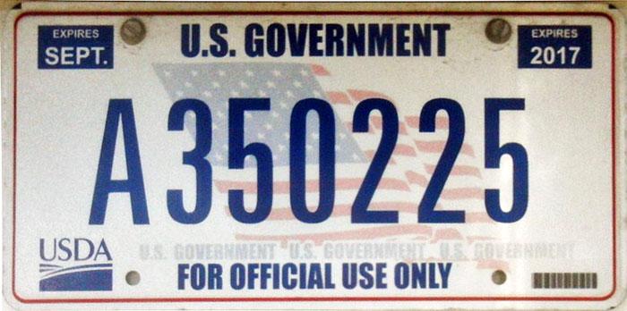 Image result for USA senator plate number