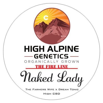 Naked Lady (The Farmer's Wife x Dream Tonic) 10 Regular High CBD Seeds