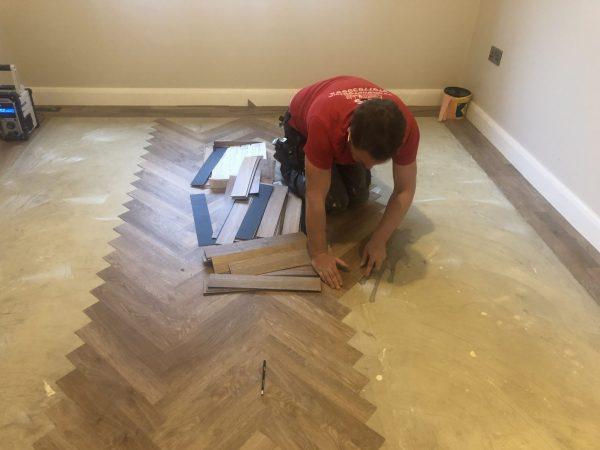 installing karndean knight tile parquet