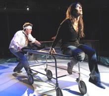 Tim Getman and Gabriela Fernandez-Coffey (Photo: Stan Barouh)
