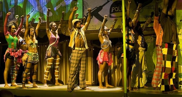 FELA! on Broadway Ensemble. (Photo by Monique Carboni)