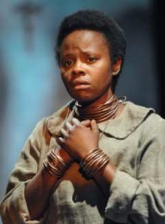 Nancy Moricette as Jekesai (Photo: Scott Suchman)